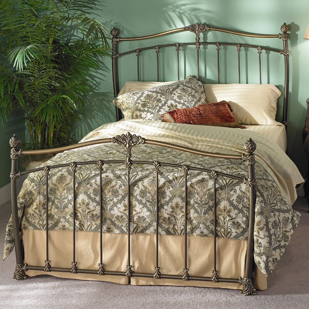 Merrick Bed by Wesley Allen Iron Beds, Bedroom Furniture