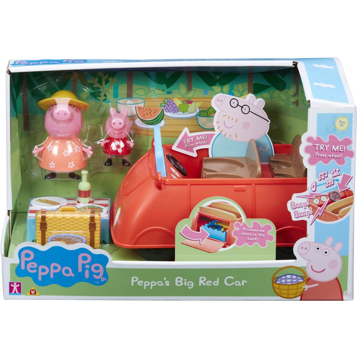 Peppa Pig Deluxe Family Car Peppa pig toys, Peppa pig, Toys