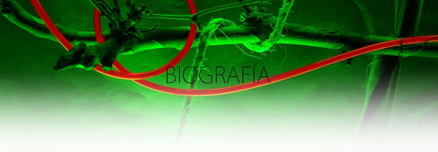 BIOGRAFIA. YENY CASANUEVA Y ALEJANDRO GONZALEZ. PROYECTO PROCESUAL ART