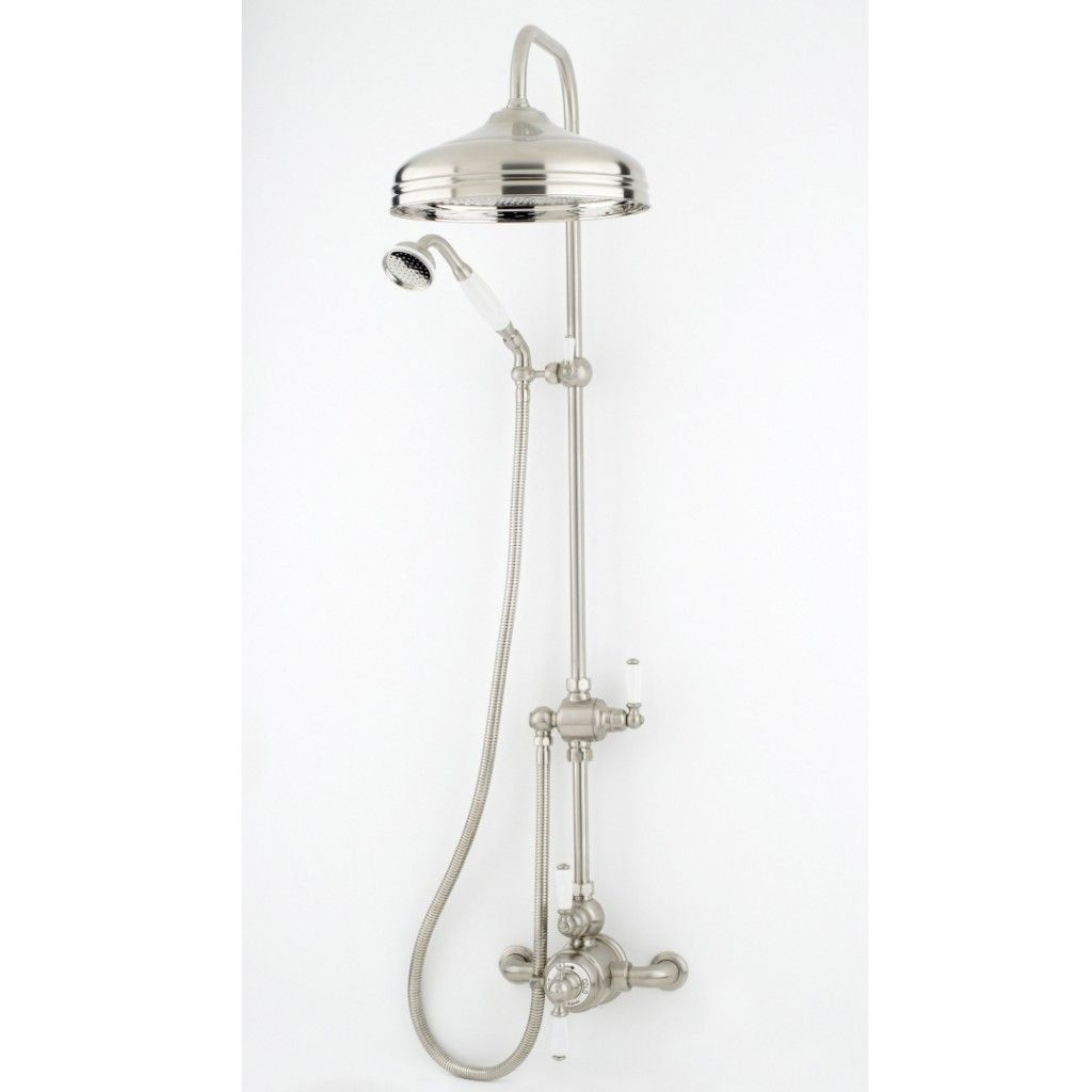 Perrin And Rowe Traditional 12 Inch Rose Shower Set 1 Shower Set