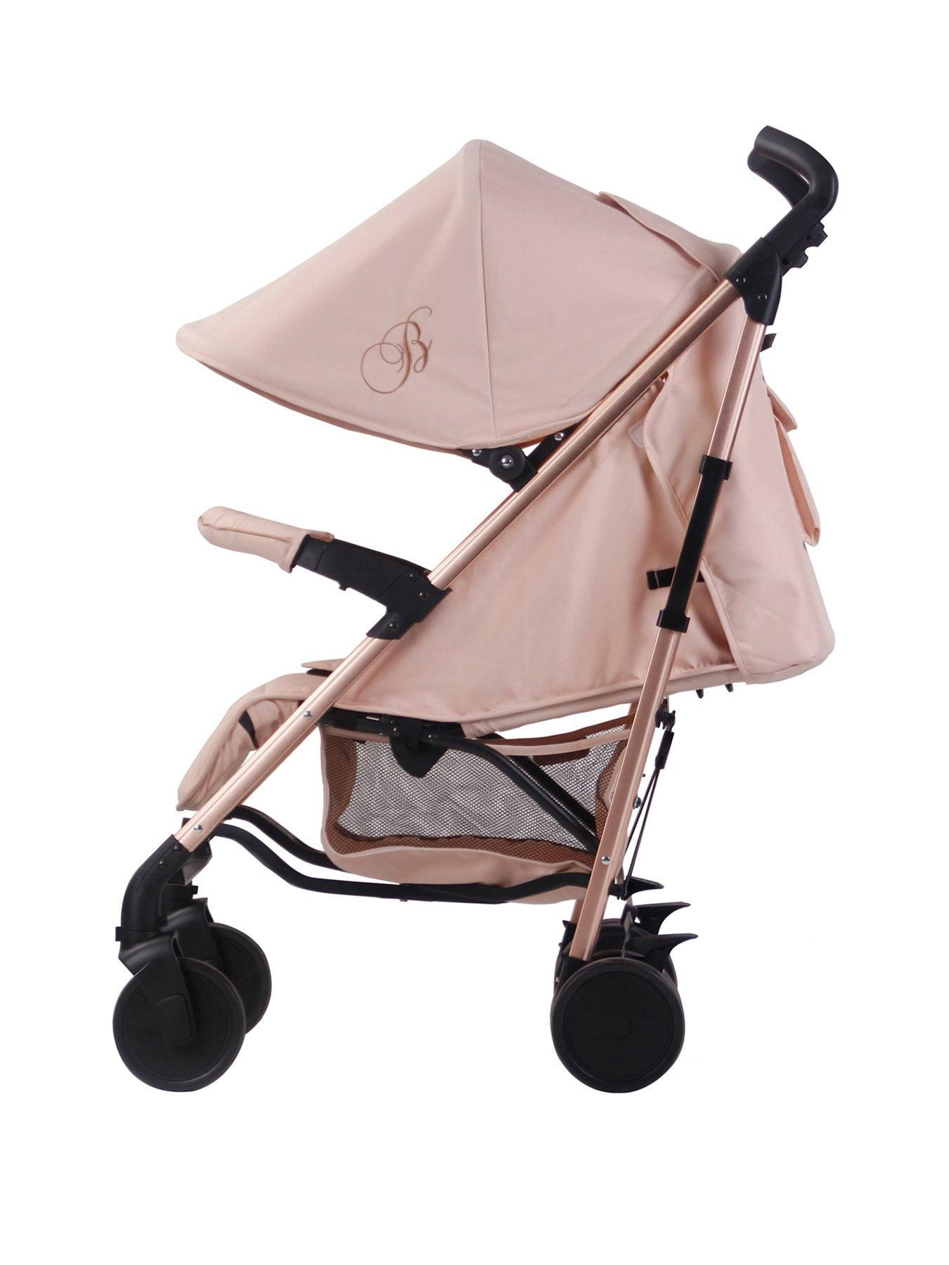 My Babiie Billie Faiers MB51 Rose Gold & Blush Stroller in