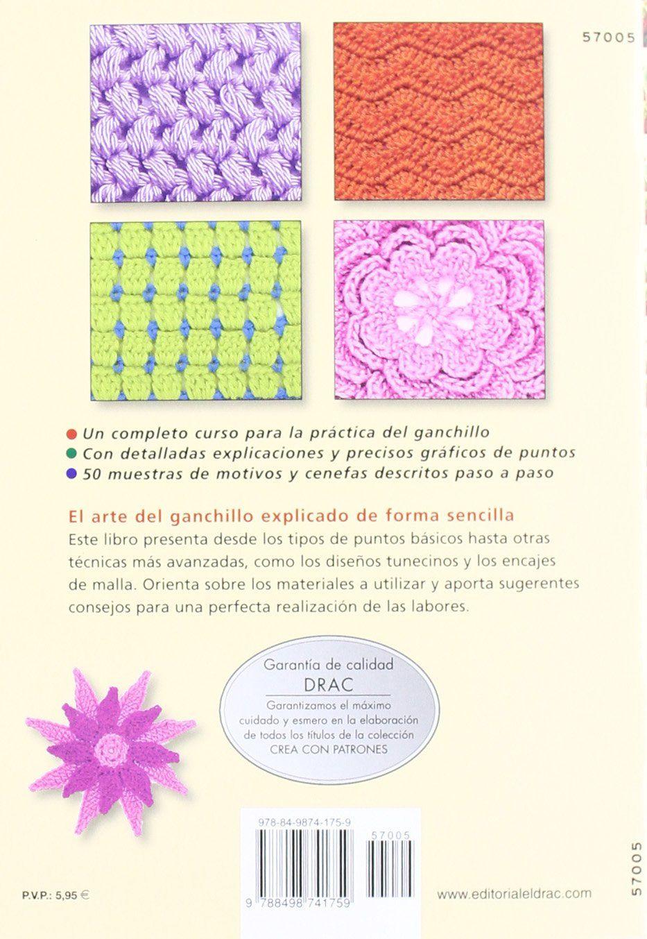 Curso Práctico De Ganchillo Cp Serie Ganchillo drac: Amazon.es: Anne ...