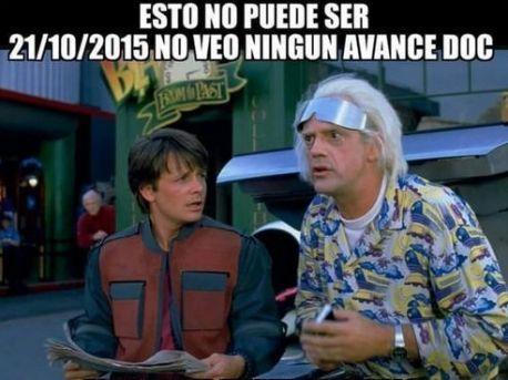 Los 10 mejores memes de la llegada de Marty McFly al 2015 en Volver al Futuro