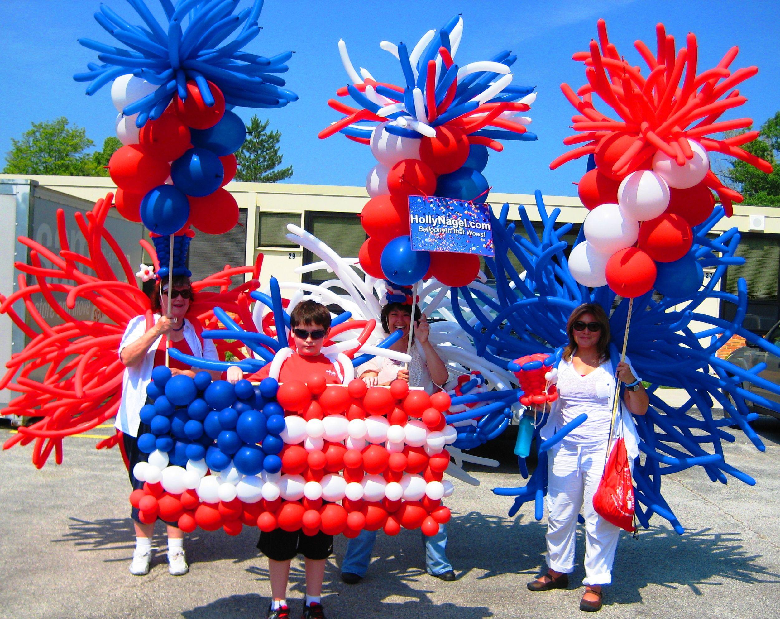 48 best balloon 4th of July decor images on Pinterest | Balloon ...