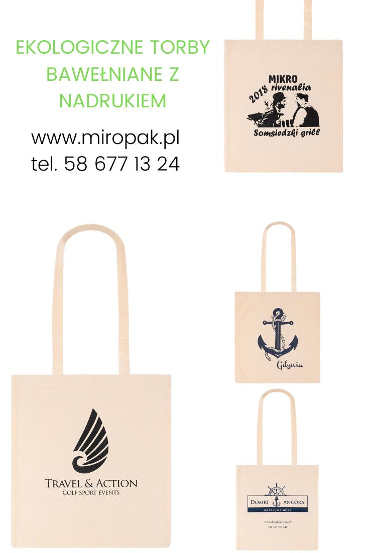 Realizacje Ekologiczne Torby Bawelniane Z Nadrukiem Paper Shopping Bag Shopping Bag Bags
