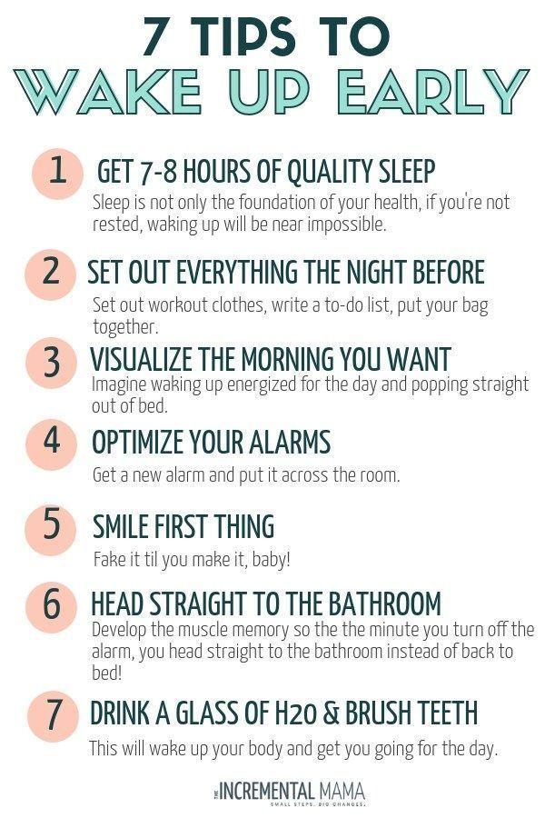 Wie man früh morgens aufwacht, wenn man eine Nachteule ist #lifehacks