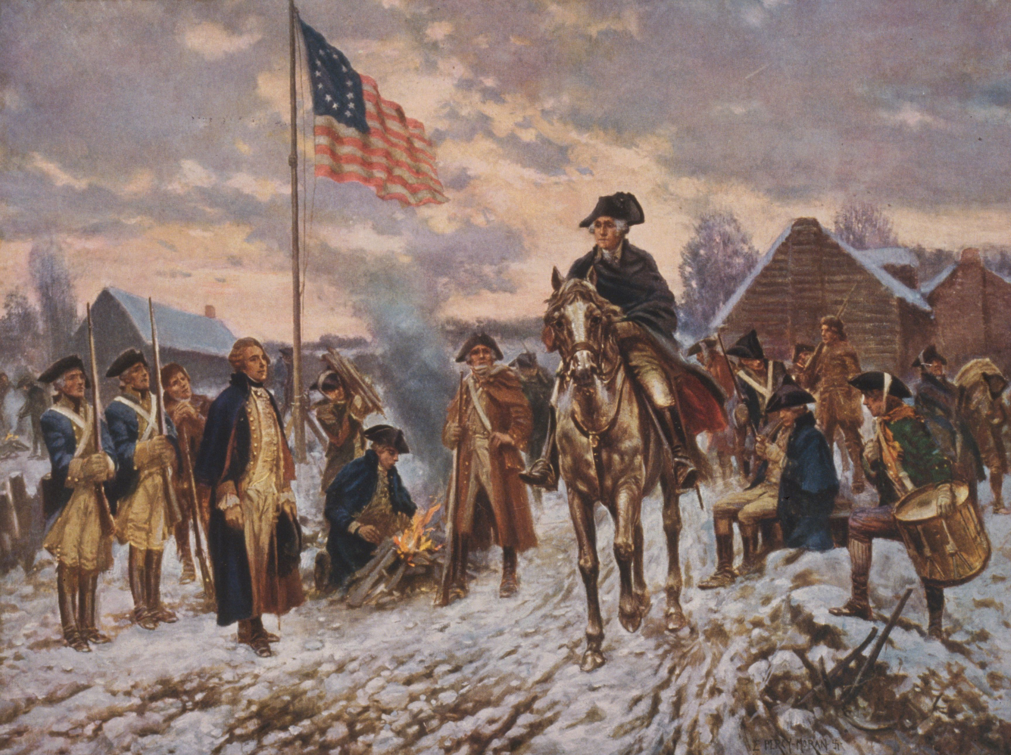 An analysis of the continental army and the george washingtons revolutionary war