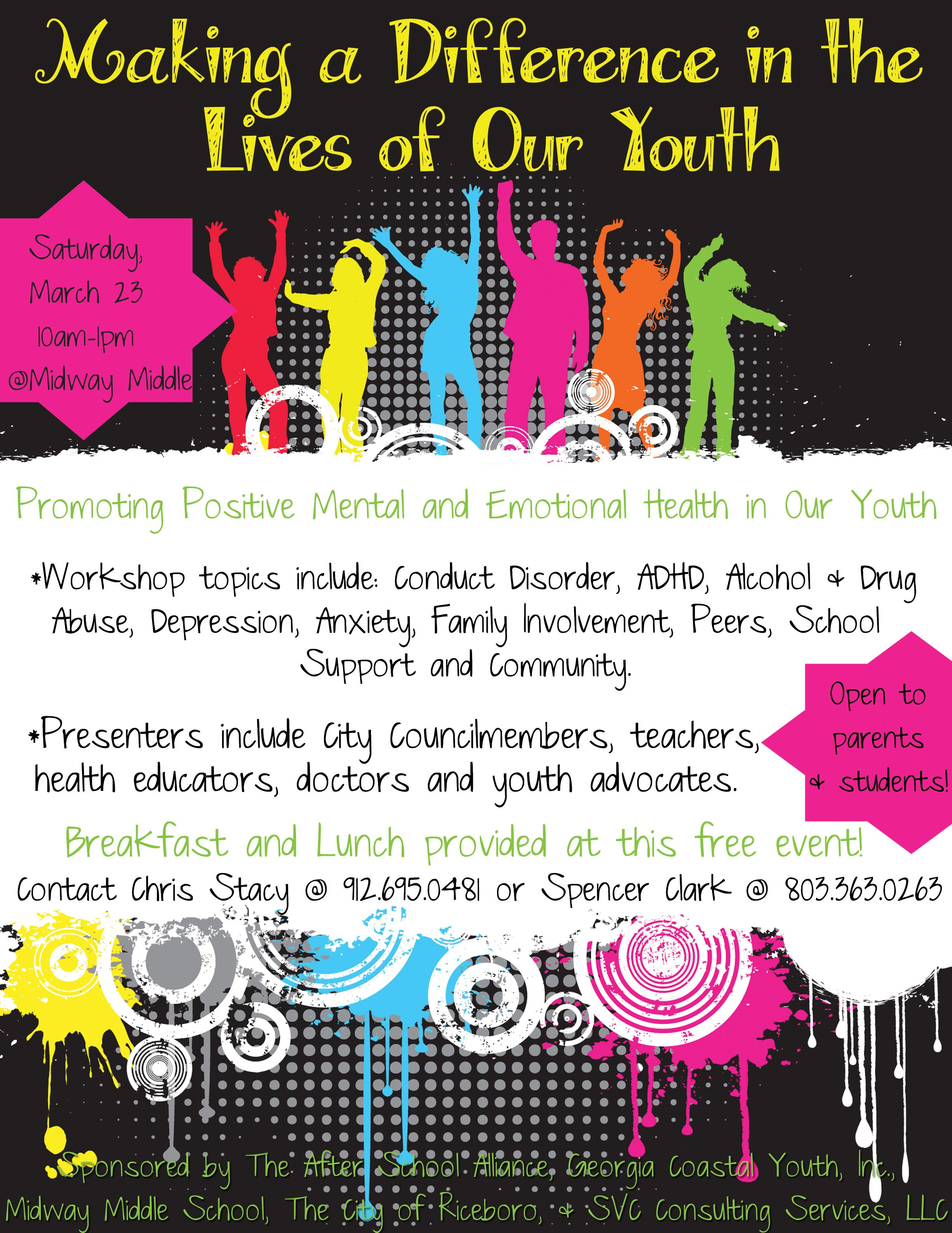 Make a difference in the lives of our youth