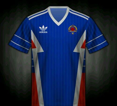 yugoslavia football shirt