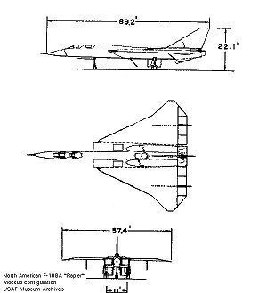Orthographically Projected Diagram Of The North American Xf 108 Rapier An Airplane That Never Left The Design P North American Aircraft Design Turbojet Engine