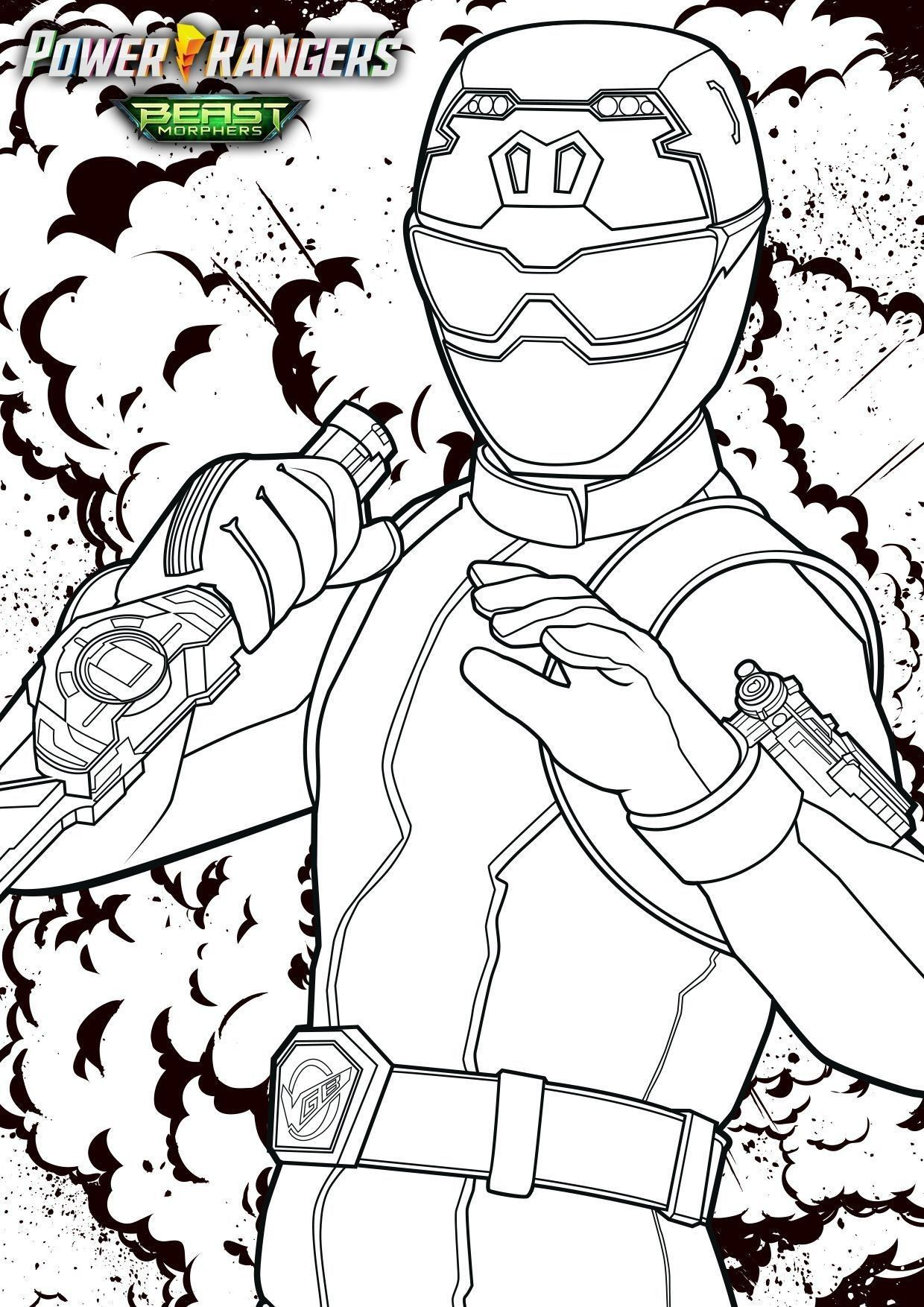 Coloriages Power Rangers Beast Morphers A Imprimer Power Rangers Beast Morphers Coloriage Power Rangers Power Rangers Coloriage Dessin Anime