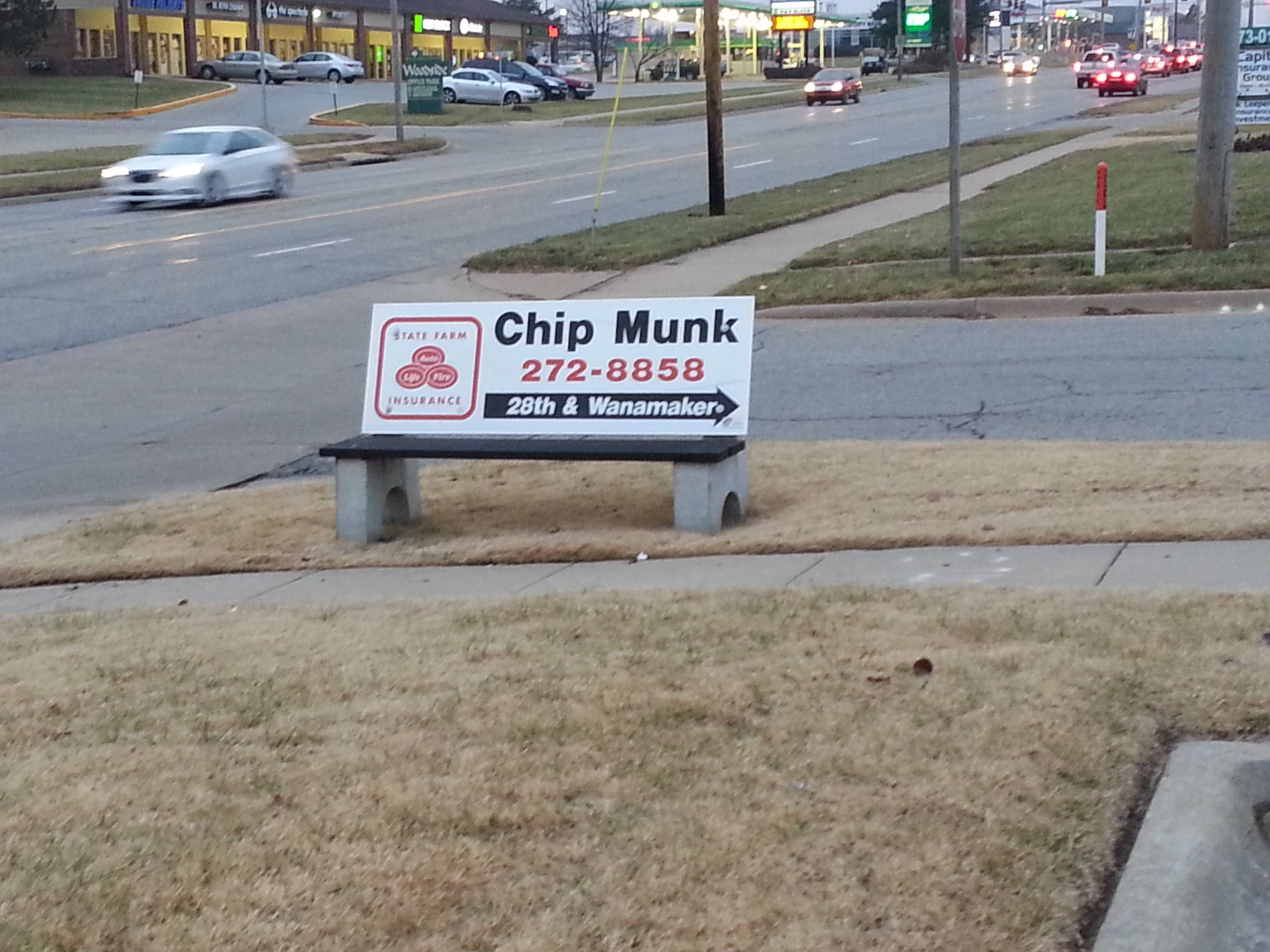There is a grown ass man named Chip Munk.