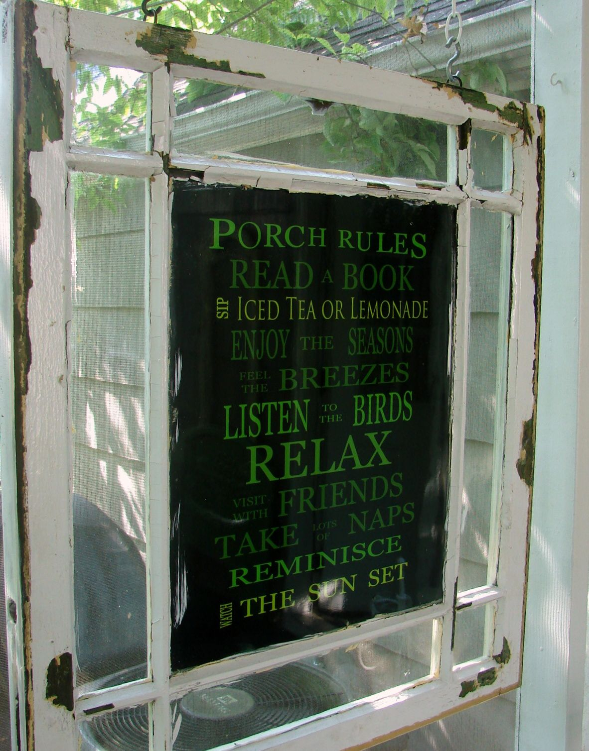 6 pane window frame ideas  custom comforts porch rules  repurpose  pinterest  porch and gardens