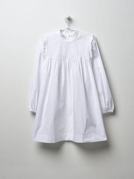 Ganni Slate Dress Bright White In 2019 Ganni Dress