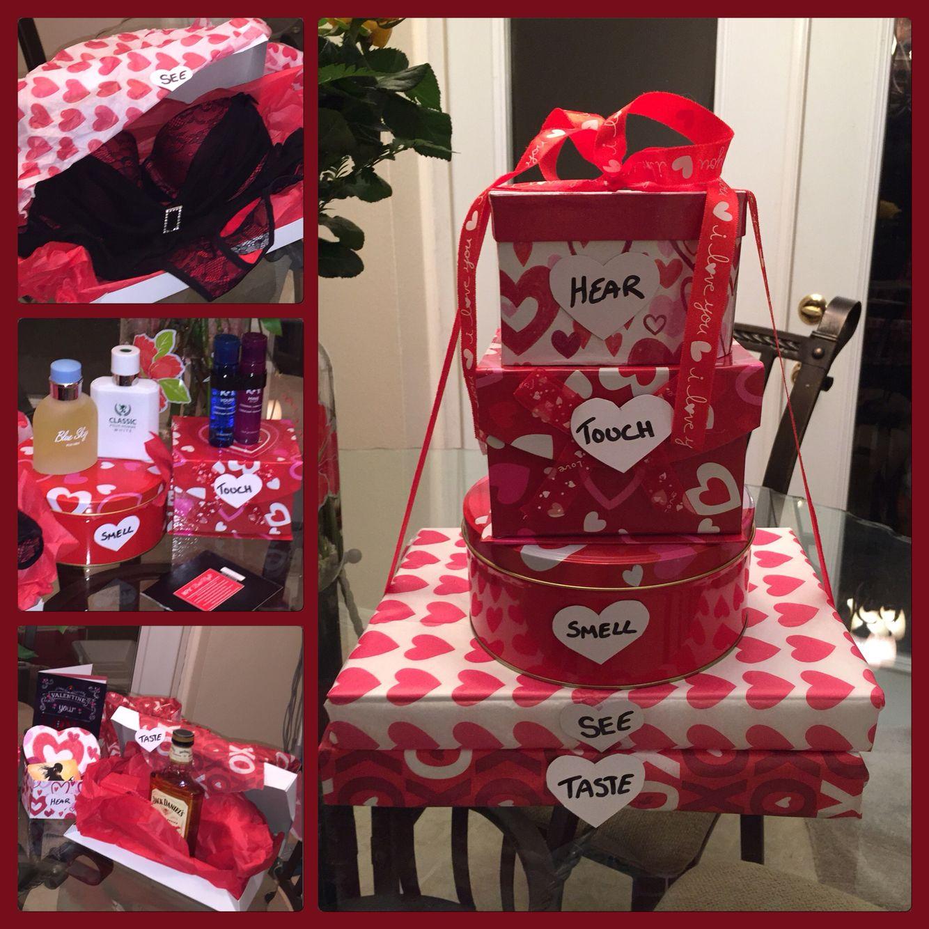 Gift of the five senses romantic diy gifts romantic