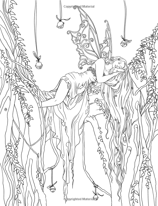 Enchanted - Magical Forests Coloring Collection (Fantasy Art ...