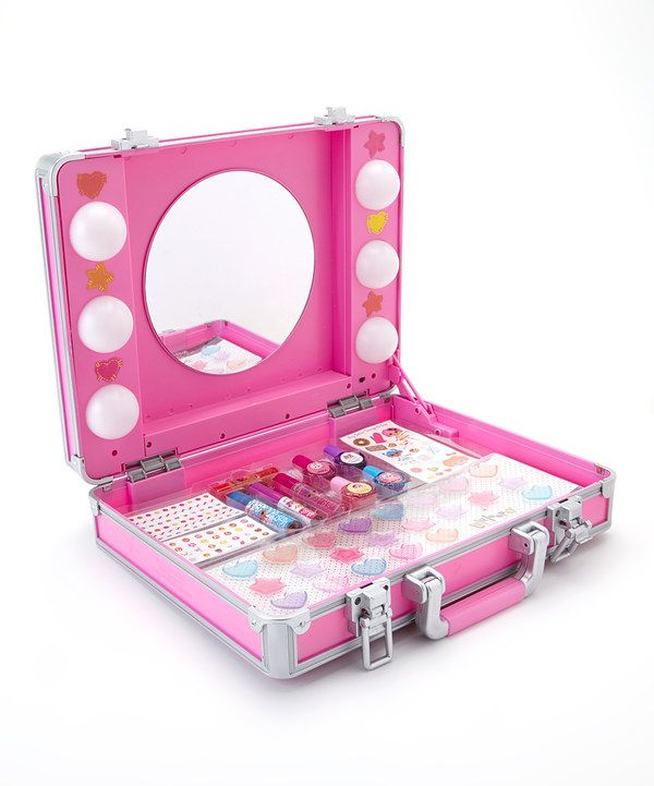 Look At This Light Up Cosmetic Case On Zulily Today Makeup Kit For Kids Cosmetic Case Justice Makeup
