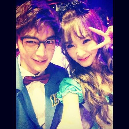 [PHOTO] Tiffany instagram update - with Minho 141105 - 묭코난 보다 더 귀여운 밍코난 <333 #MINHO #SOCUTEOMG #SHINEE #SMTOWN  Credit: xolovestephi