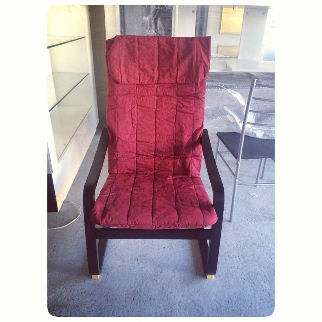For Sale Red Chair New Price 7 Bd للبيع كرسي هزاز لون احمر جديد السعر