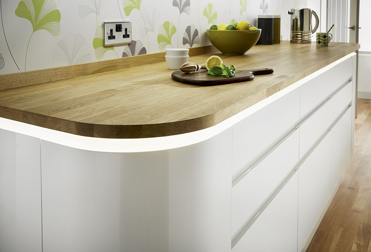 Kitchens (With images) Curved kitchen, Kitchen design