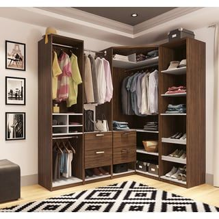 Shop For Cielo By Bestar Premium Corner Walk In Closet. Get Free Shipping  At Overstock.com   Your Online Home Improvement Outlet Store!