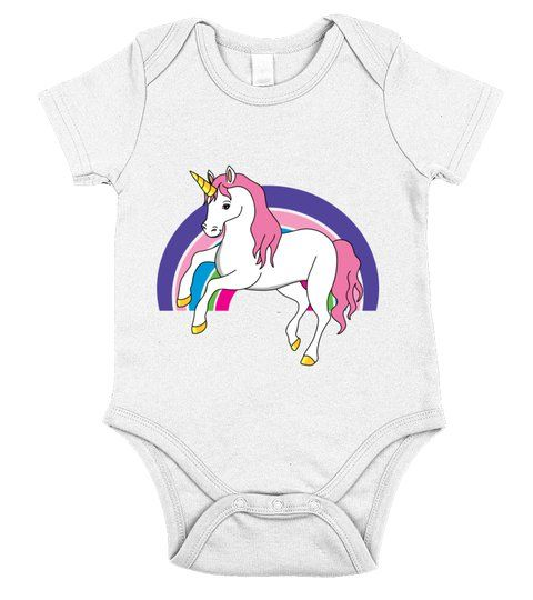 c15c7a8d98db0 Unicorn Fairy Tale Story Fable Rainbow Myth 89 #Shirts #Babyshirts ...