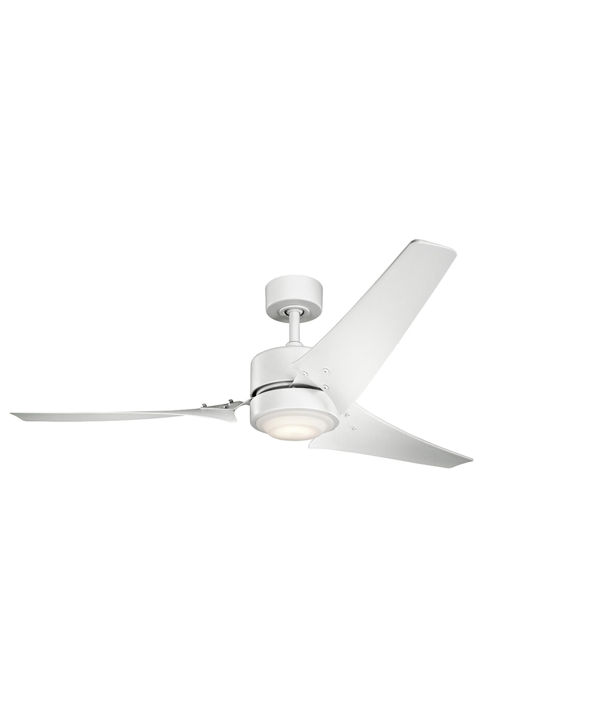 2887bc2e070 Kichler 310155 Rana Energy Smart 60 Inch Ceiling Fan With Light Kit ...