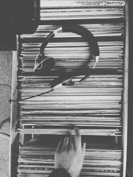 Blackandwhite Music Vinil