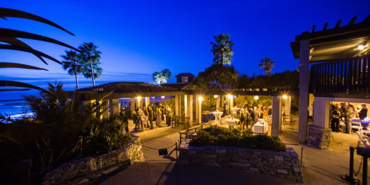 Gorgeous Evening Reception At Del Mar House