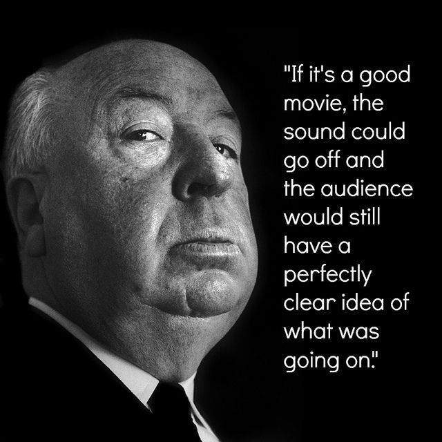 Film Director Quote - Alfred Hitchcock - Movie Director Quote #alfredhitchcock