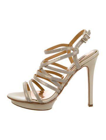 Badgley Mischka Multistrap Platform Sandals 100% original sale online free shipping 2014 unisex sale best wholesale 6S1LnWRKSw