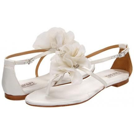 Badgley Mischka Zowie Bridal Shoes White