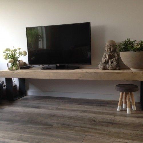 Houten tv meubel houten televisie meubel decor tv for Houten meubels woonkamer