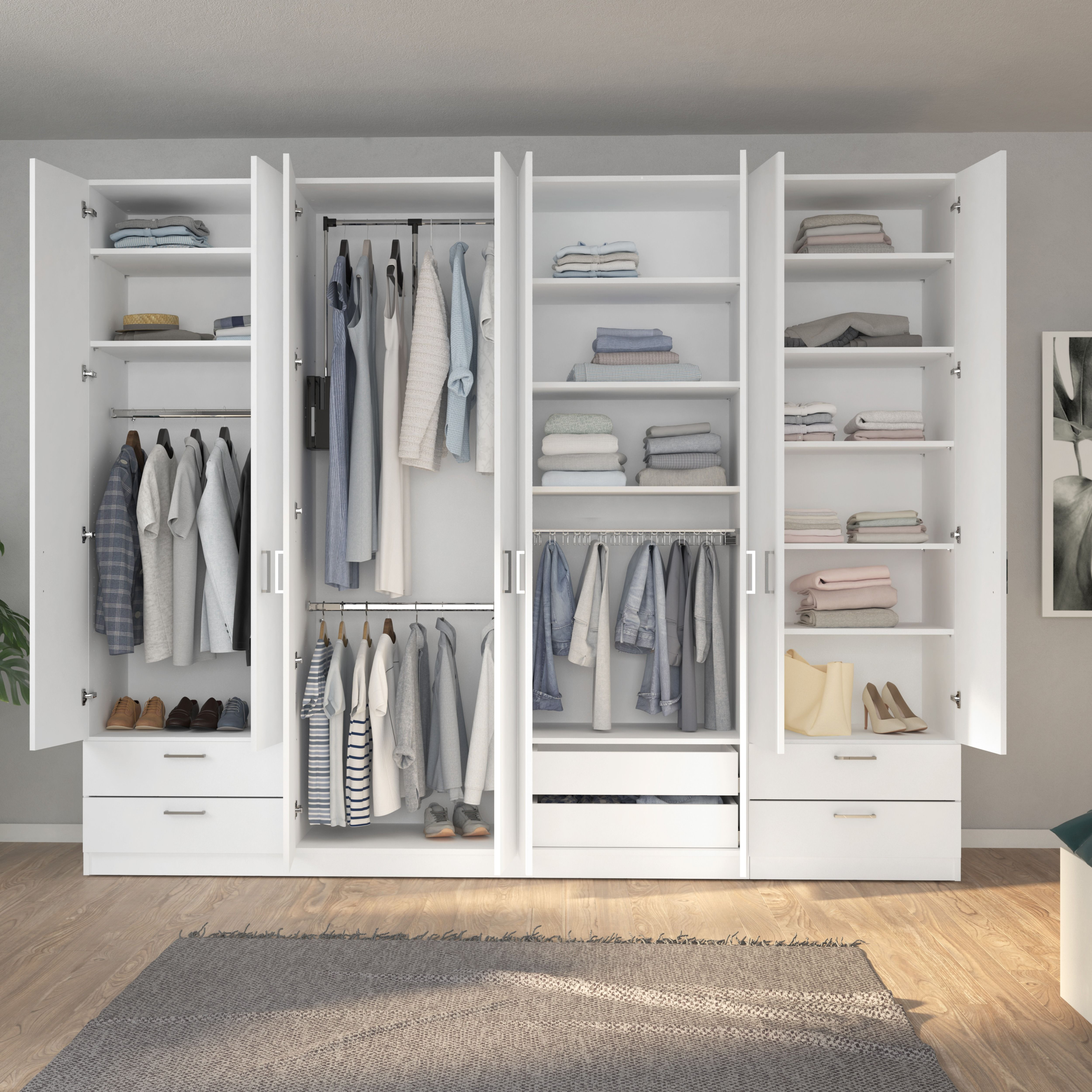 Schlafzimmerschrank Mit Individueller Ausstattung Schrank Zimmer