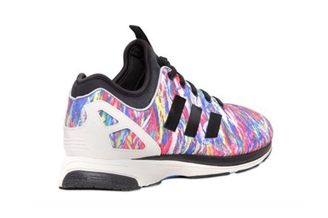 adidas zx flusso tech pn (confetti) scarpe sgorbio scarpe da ginnastica