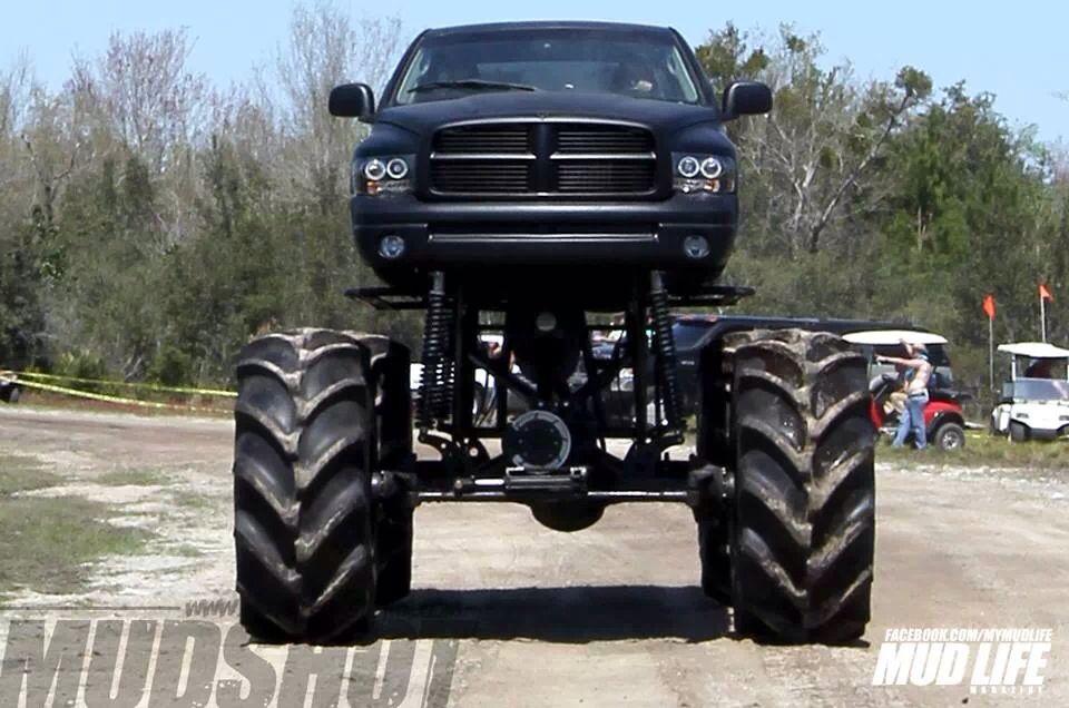 Monster Dodge Ram Mud Trucks Monster Trucks Hummer Truck