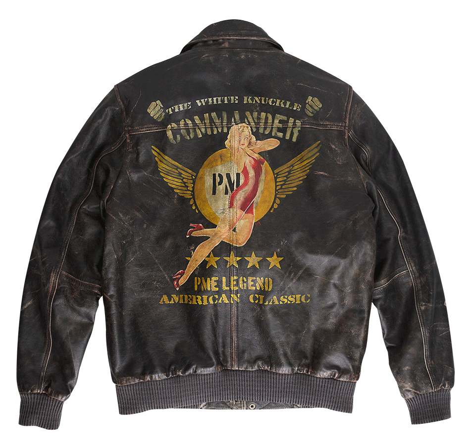 Original MA1 PME Legend Bomber 'White Knuckle' hand