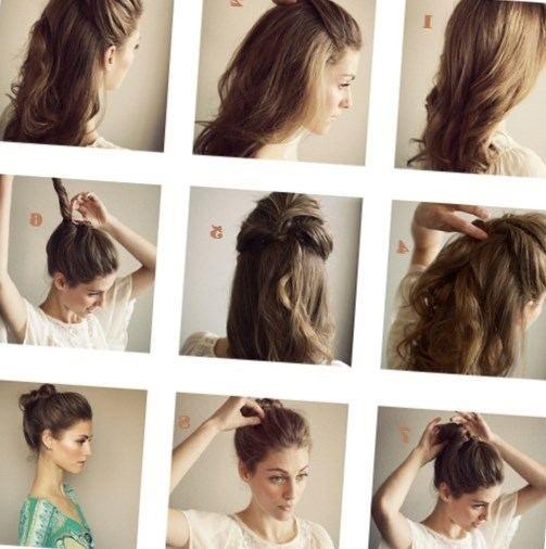 Coiffure A Faire Soi Meme Facile Cheveux Mi Long Alsp