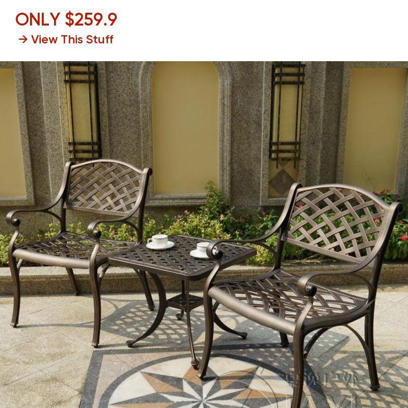 Table Garden Furniture For House Decor, Durable Outdoor Furniture