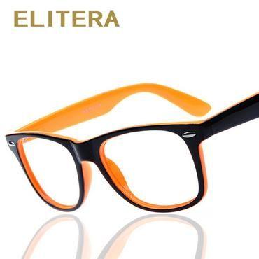 55b70fab00e ELITERA fashion big glass frame without lenses round eye glasses frame for  women and men oculos de grau