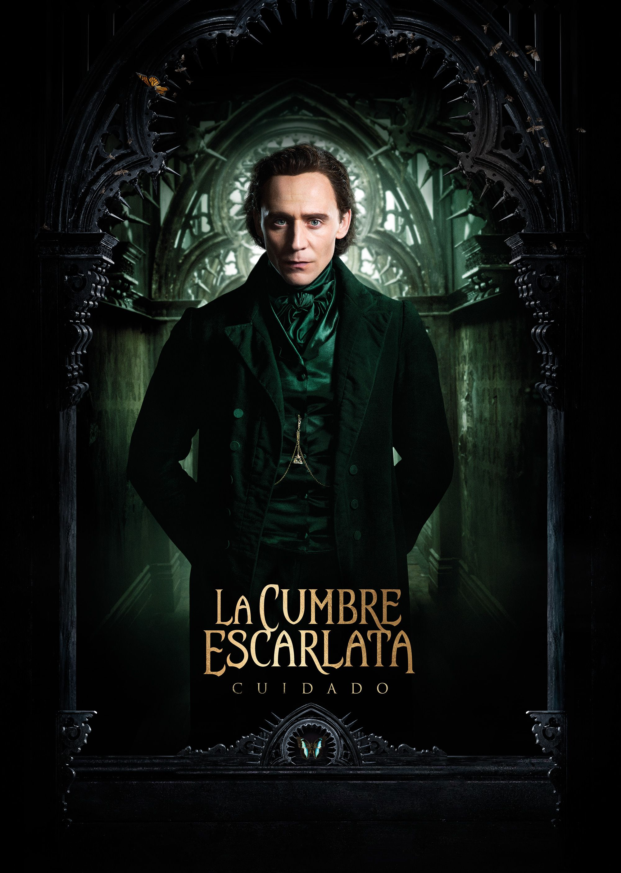 Crimson Peak Tom Hiddleston Crimson Peak poster en Espaol Crimson Peak