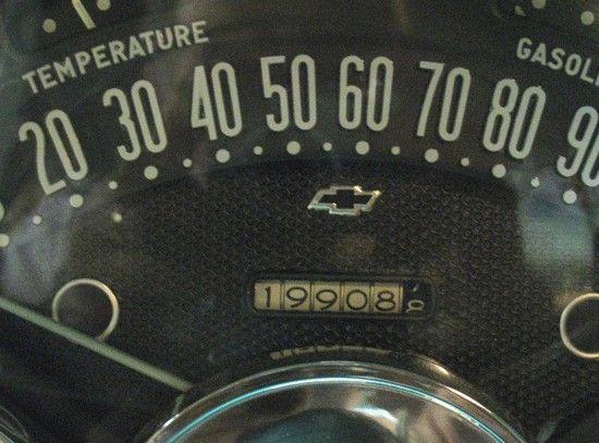 Very cool vintage speedometer
