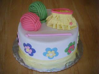Knitting Cakes Images : Cassys cakes crochet cake knitting and such