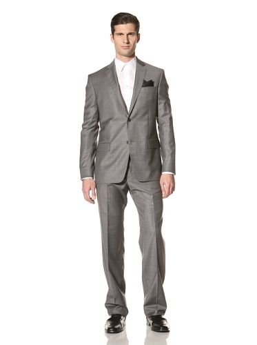 65 Off Versace Collection Men S 2 Button Suit Charcoal Expensive Suits Suit Fashion Mens Work Outfits