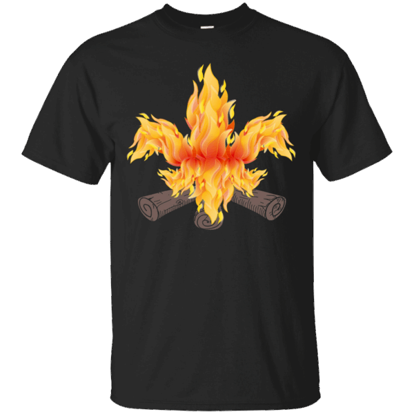 d4dcab007 I Love Scouting Fire Gift Tee Shirt Scout Leader Camp Fire shirt Scout