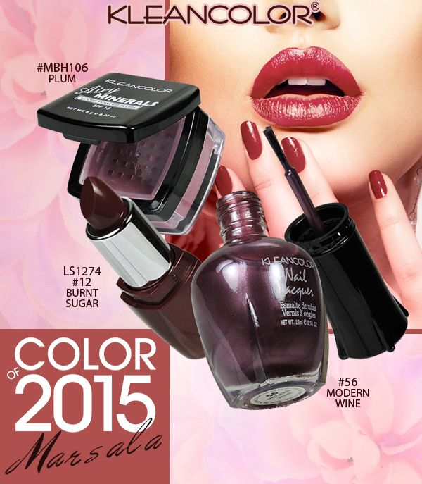 Pantone\'s 2015 Color of the Year Is…#Marsala! This red/plum is the ...