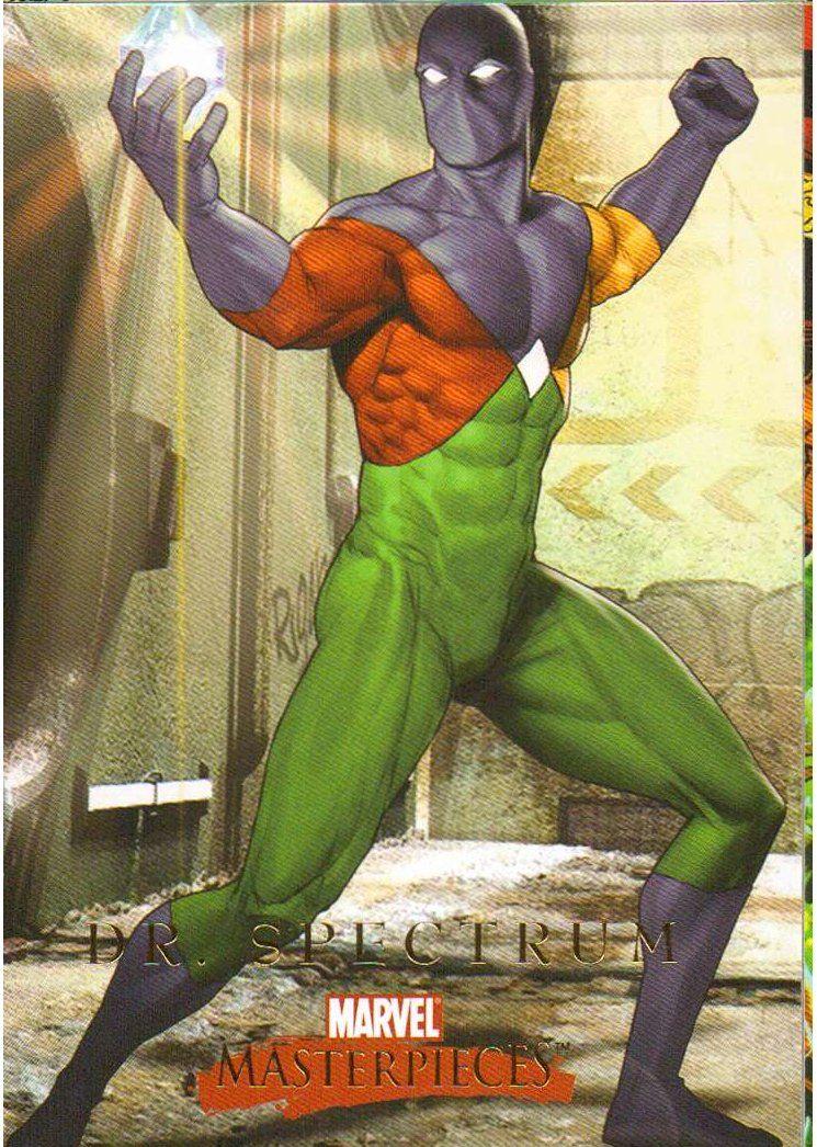 Doctor Spectrum   Marvel Comics Minecraft Skin