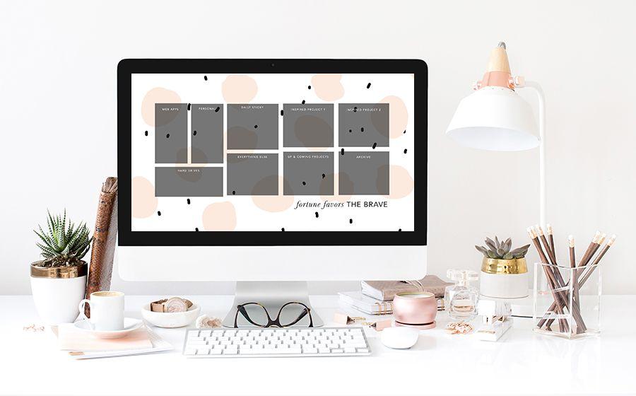 Free Desktop Wallpaper Organizers | leahremillet.com in ...