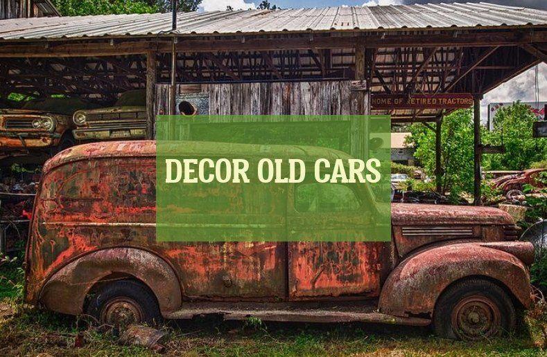Décor Voitures Anciennes Decor Old Cars