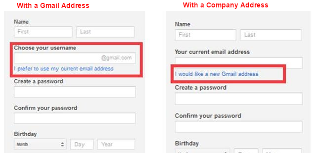 How To Setup A Google Account With Your Company Domain Name Company Address Business Email Address Accounting